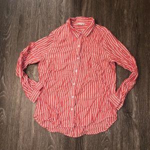 Women's Beachlunchlounge shirt long sleeve button